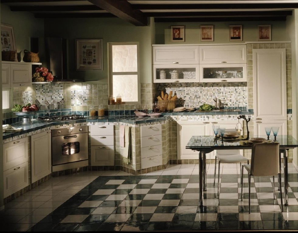 Image of: Rustic Italian Kitchen