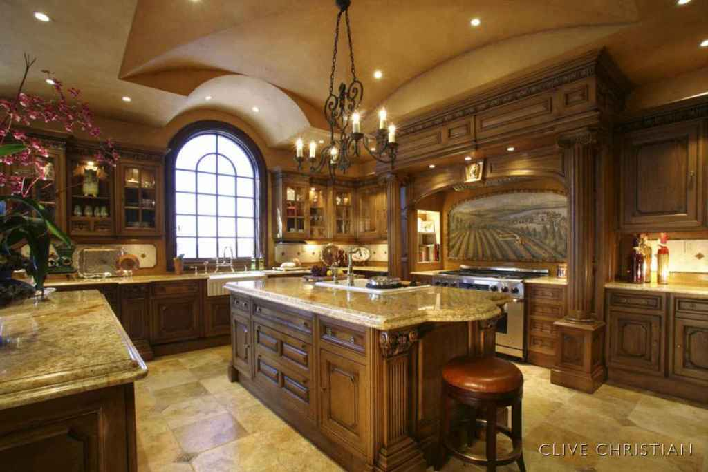 Image of: Tuscan Kitchen Interior Design
