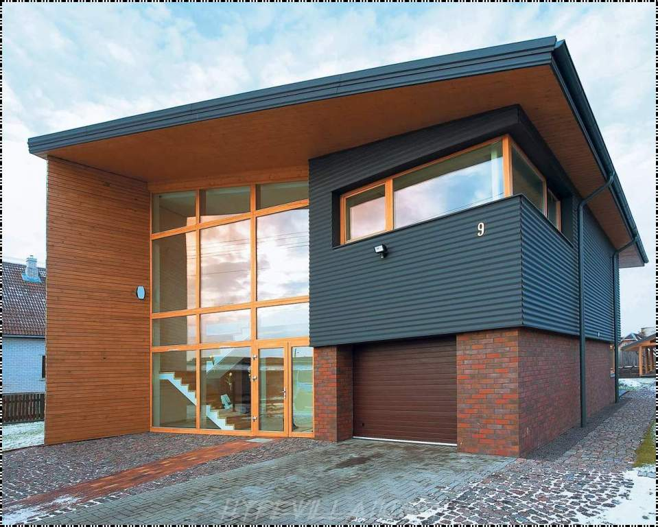 Image of: Wooden House Design Architecture Ideas