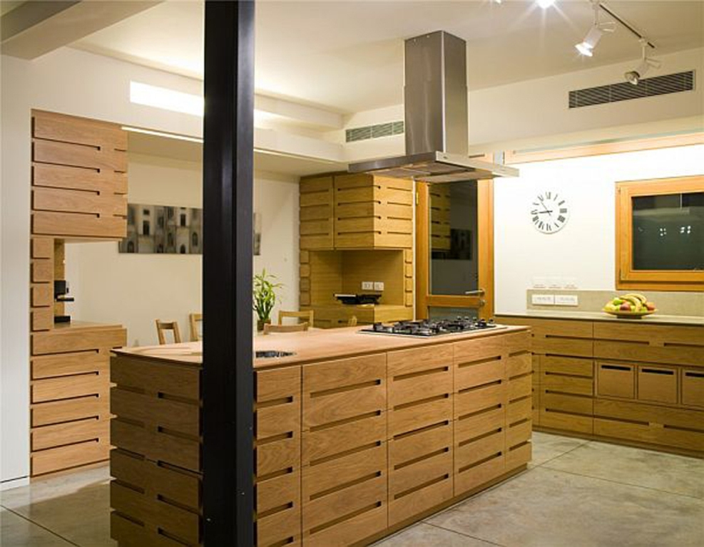 Image of: Wooden Kitchen Designs