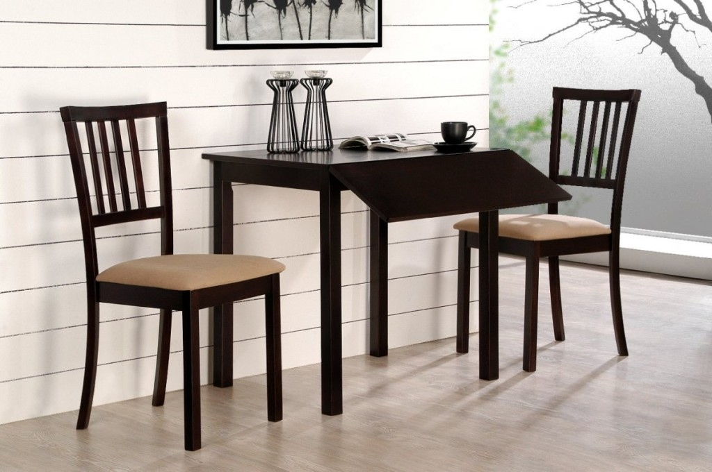 Image of: Compact Dining Table Set
