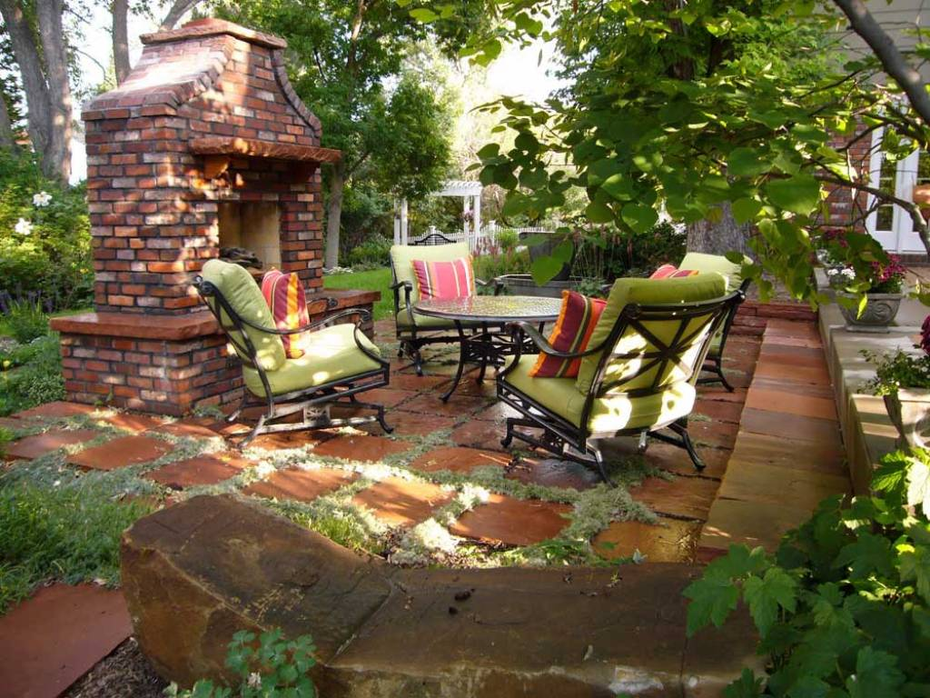 Image of: Garden Outdoor Room Designs