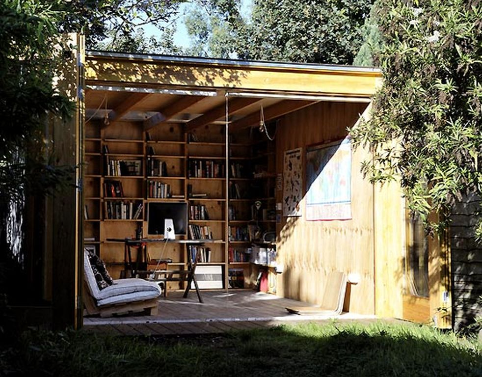 Image of: Home Office In Backyard
