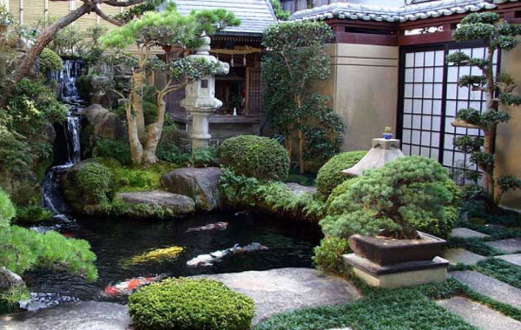 Image of: Japanese Garden Ideas For Small Backyards