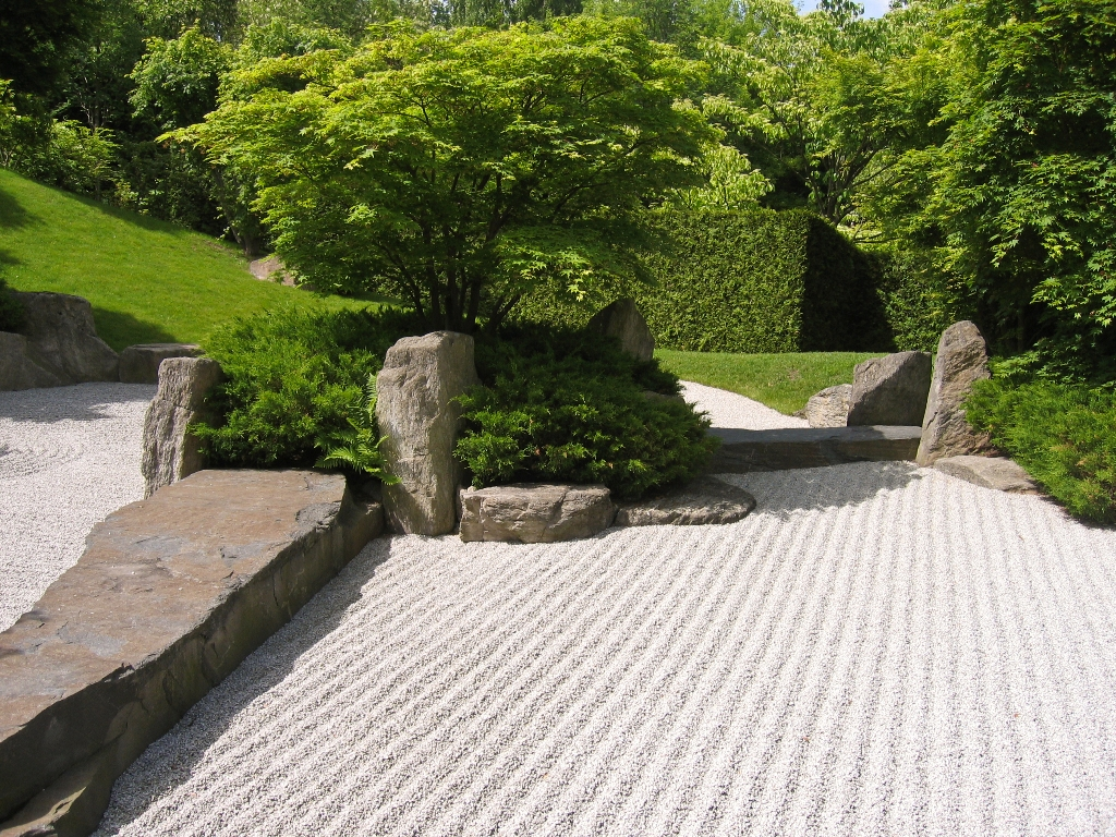Image of: Japanese Garden Ideas Pictures