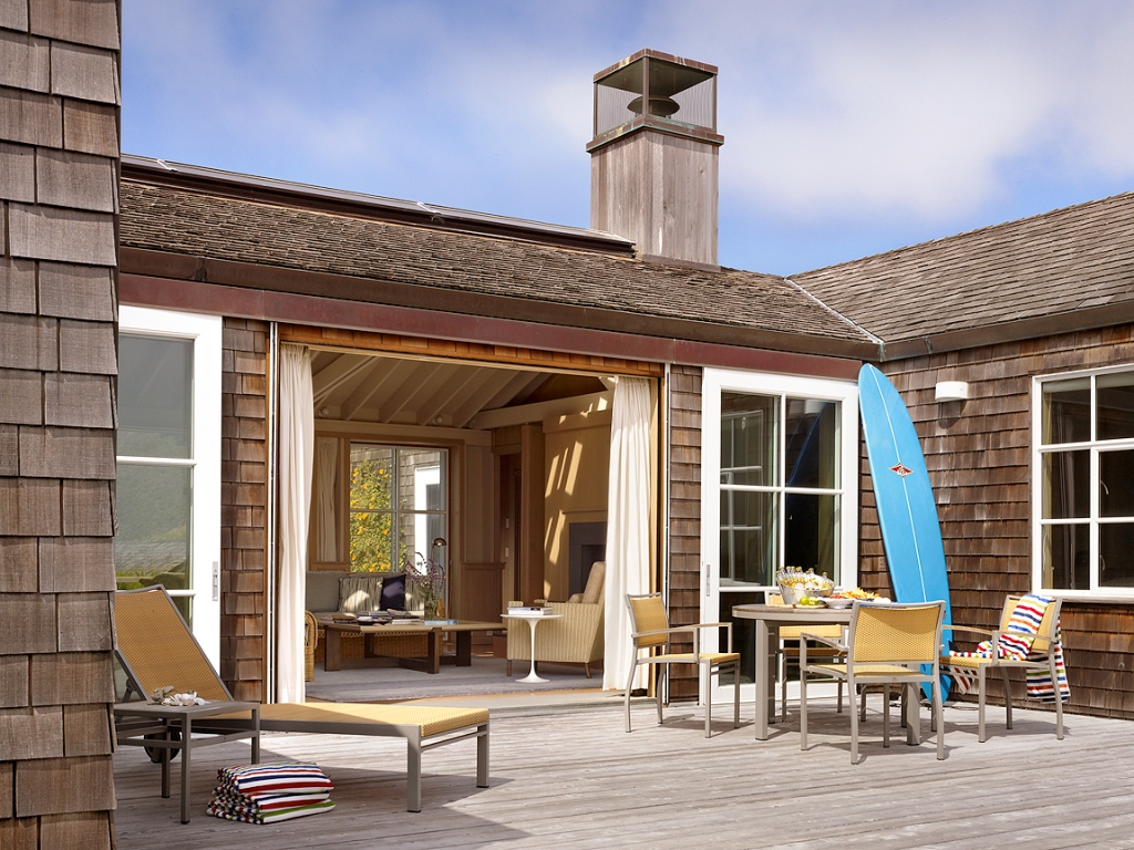 Image of: Stinson Beach House For Rent