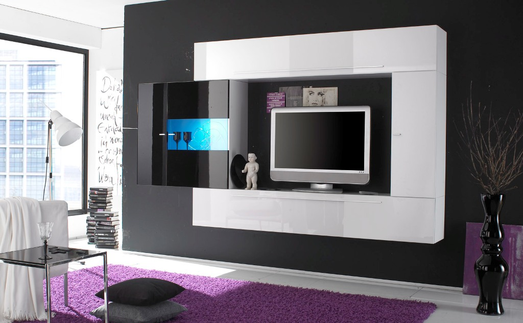 Image of: Ultra Modern Tv Wall Units