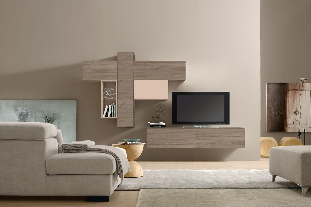 Image of: Wall Units Modern Furniture