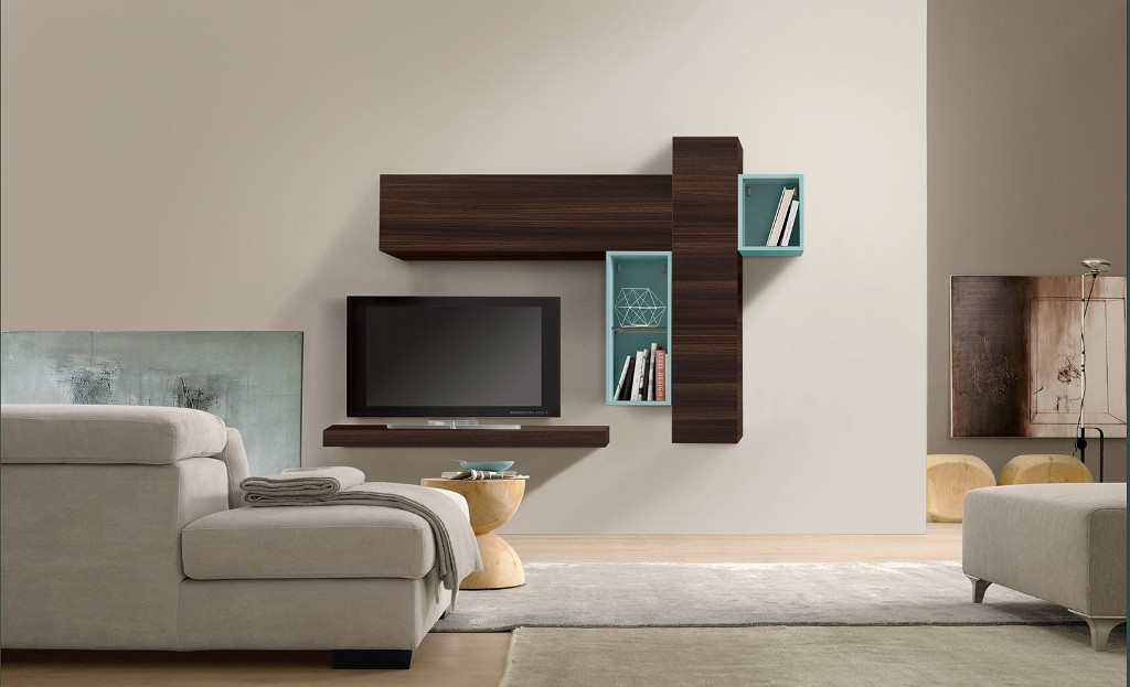 Image of: Wall Units Modern Miami