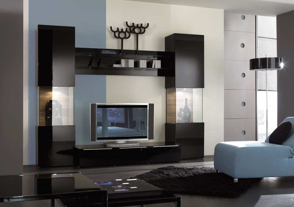 Image of: Wall Units Modern