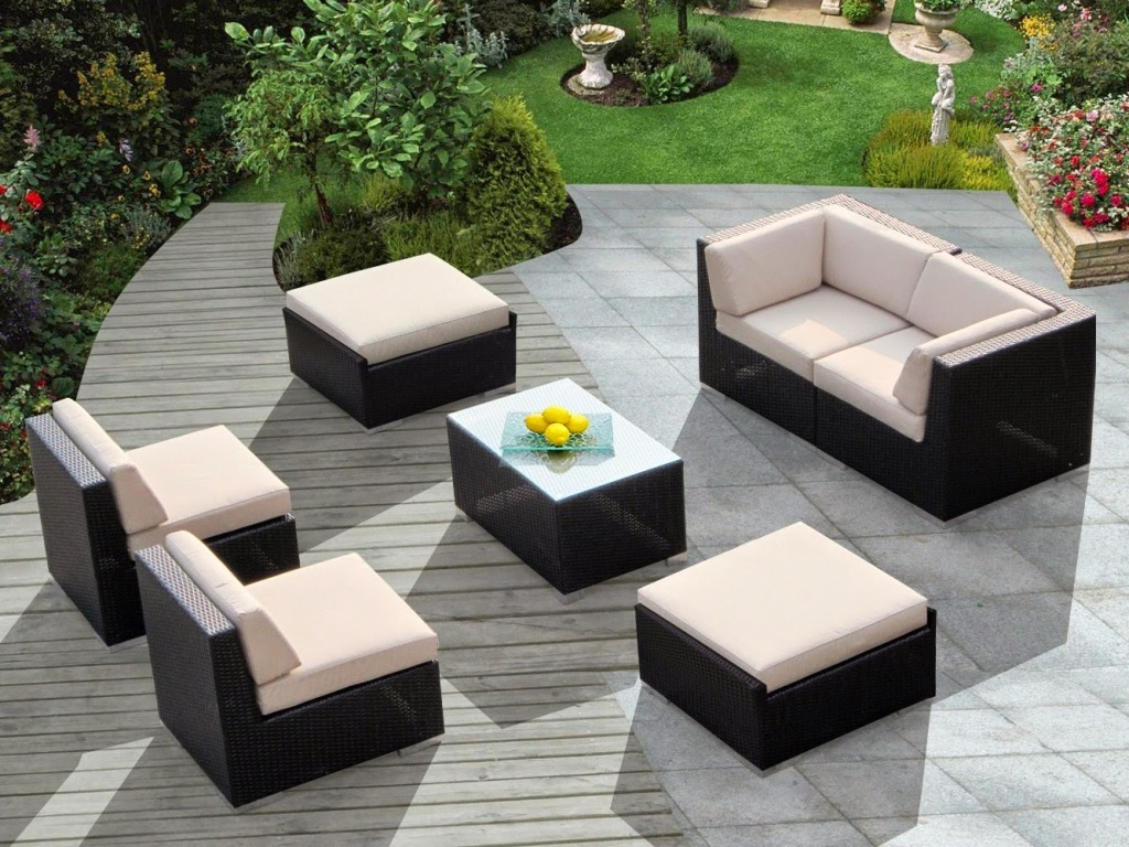 Image of: Outdoor Patio Furniture Cushions