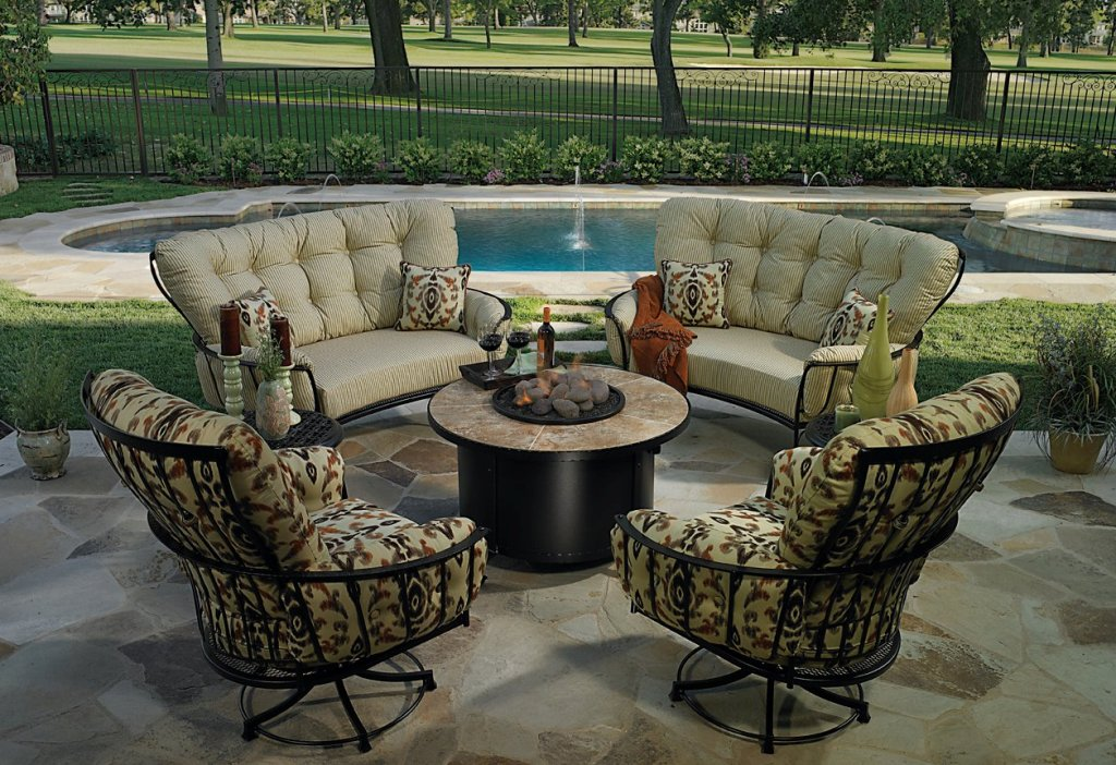 Image of: Outdoor Patio Furniture Long Island