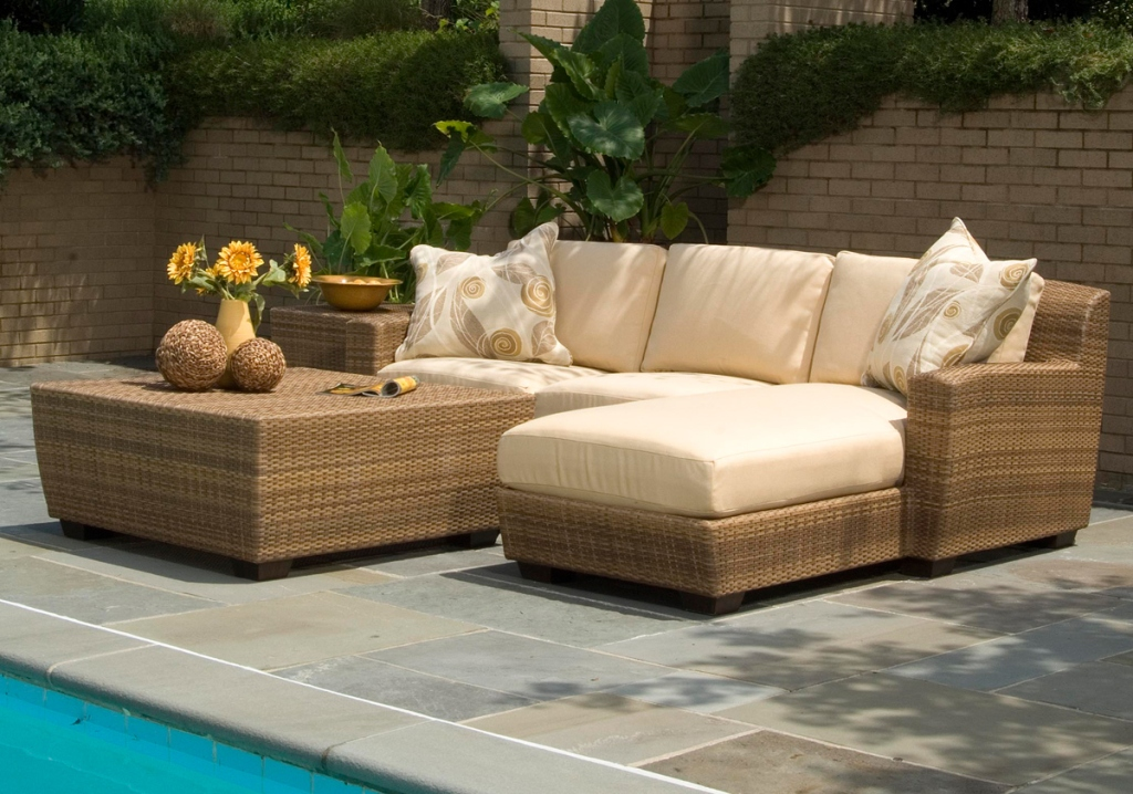 Image of: Outdoor Patio Furniture Sets