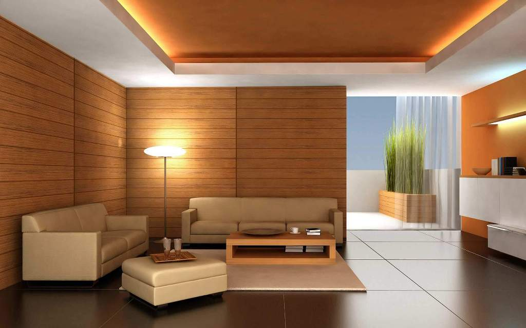 Image of: Simple Living Room Design Pictures