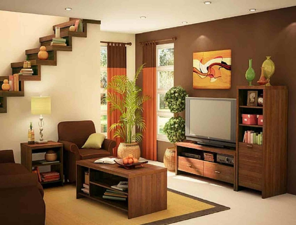 Image of: Simple Living Room Designs