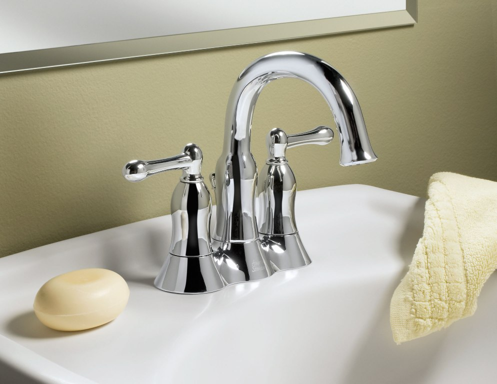 Image of: Brass Bathroom Faucet Fixtures