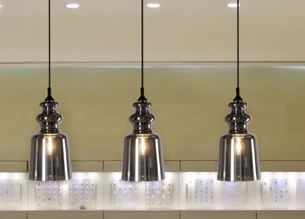 Image of: Modern Pendant Lighting Kitchen
