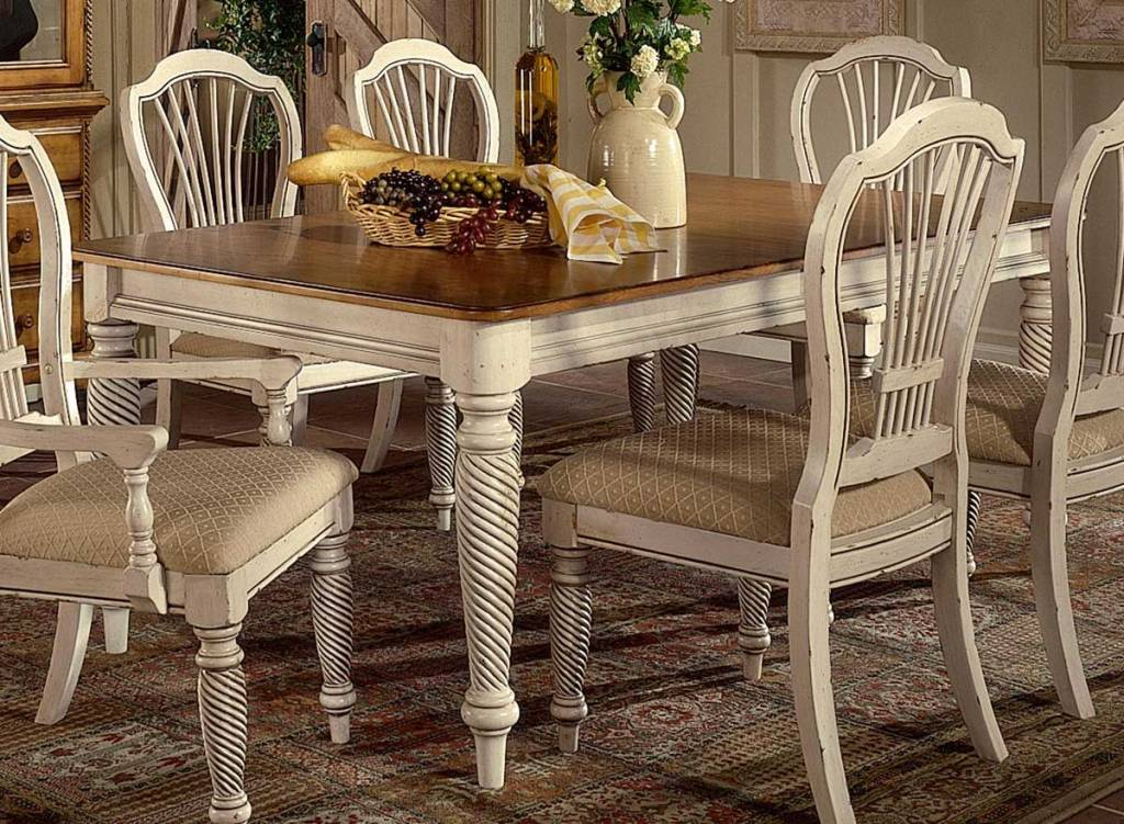 Image of: White Dining Tables