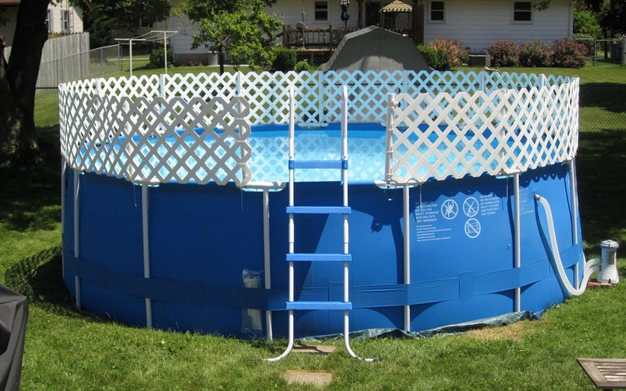 Above Ground Pool Fence Kids