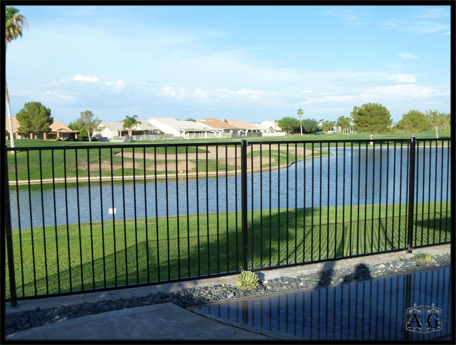 Aluminum Fence Color