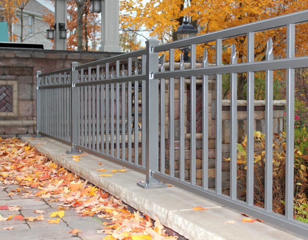 Image of: Aluminum Fence Panels For Sale