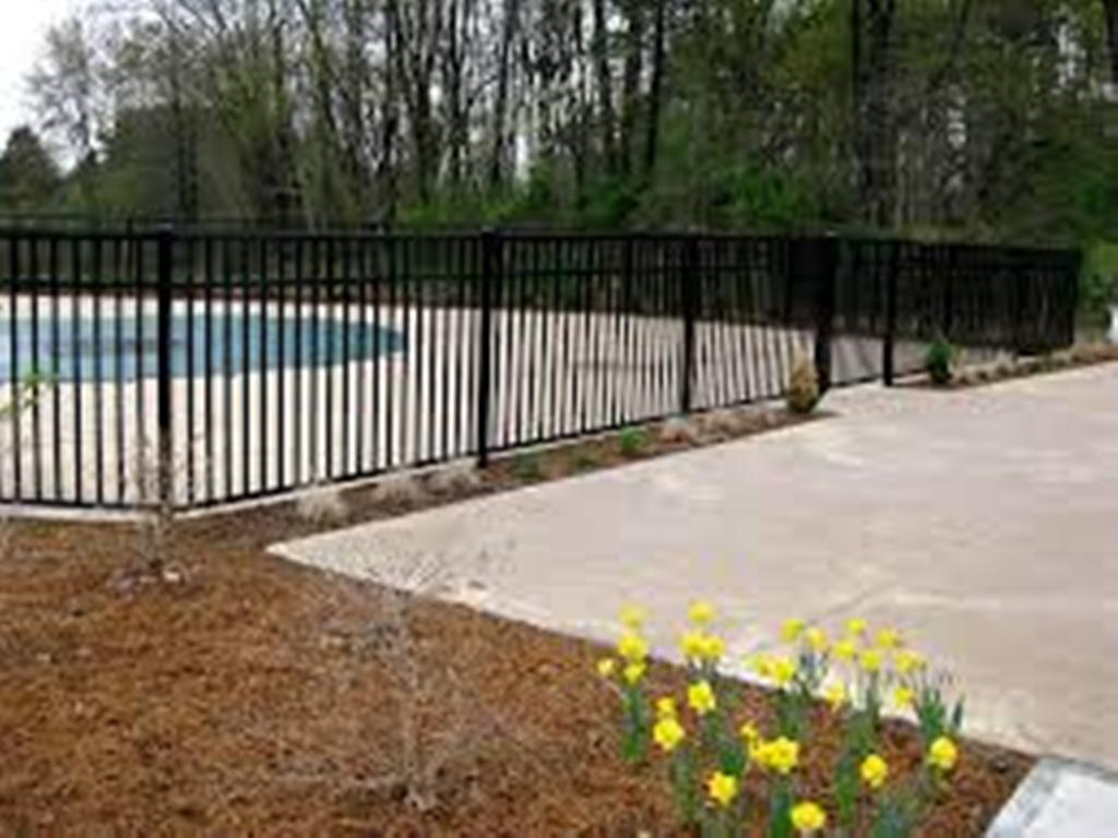 Image of: Aluminum Fencing Supplies