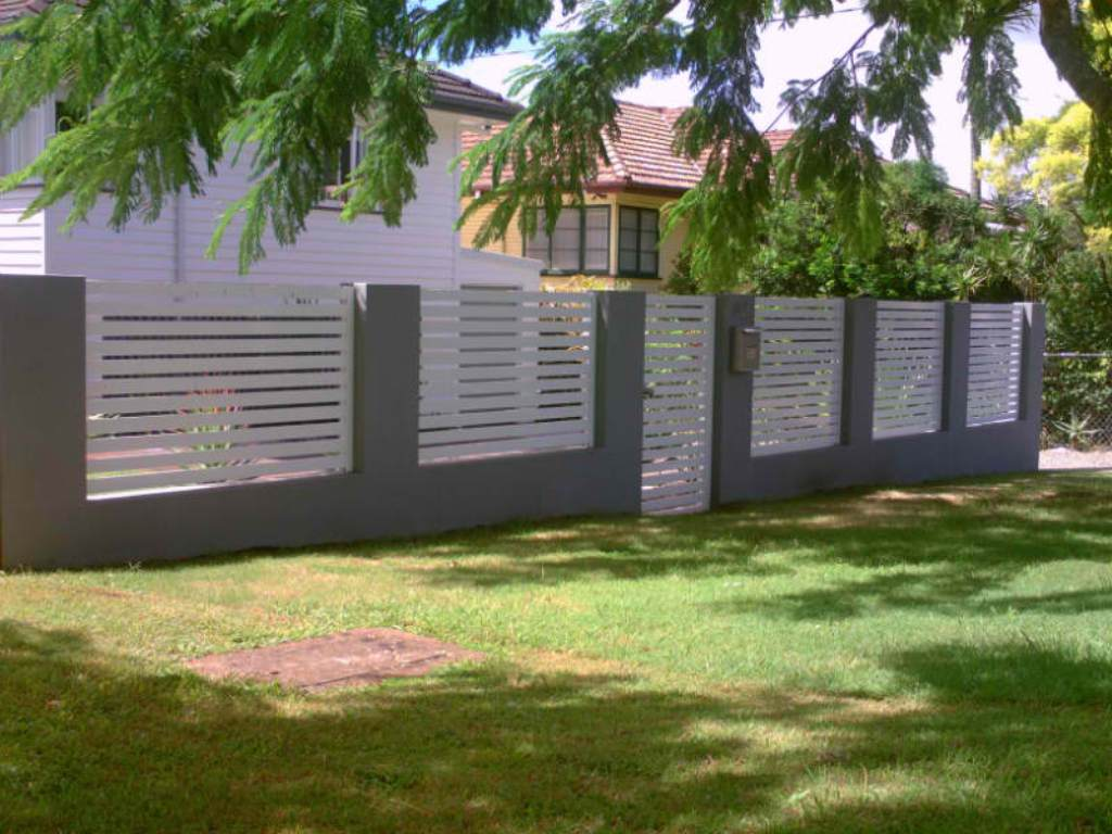 Image of: Aluminum Fencing and Gates
