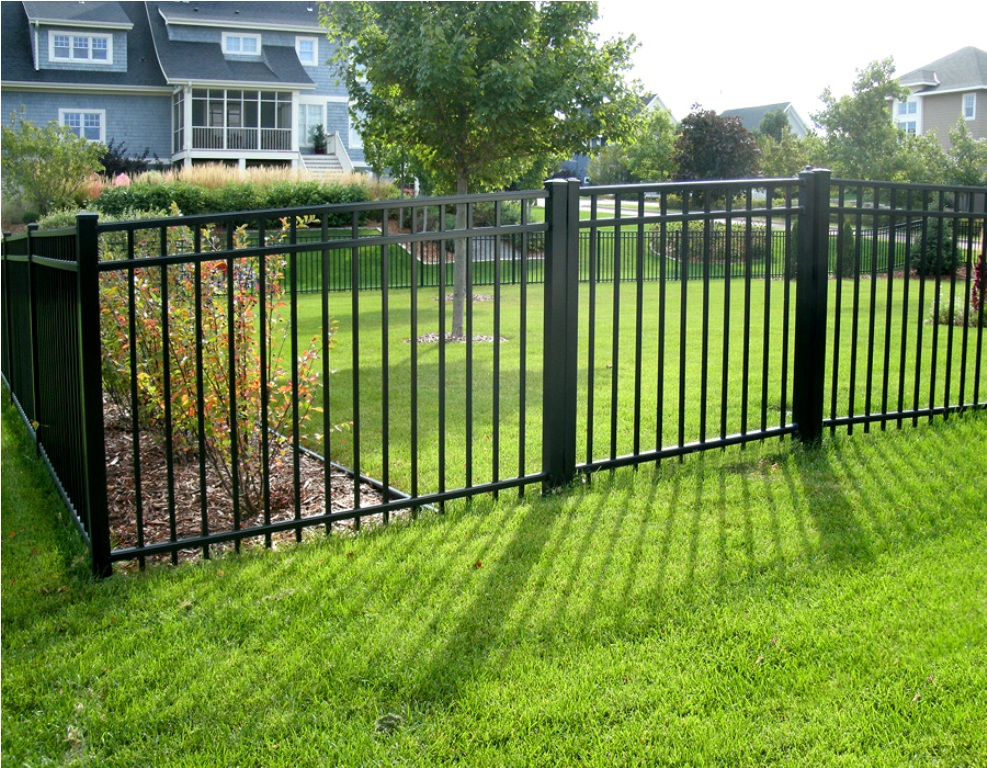 Image of: Aluminum Fencing and Railings Outdoor