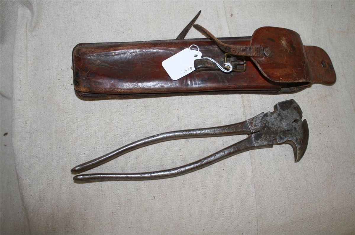 Image of: Antique Fencing Pliers
