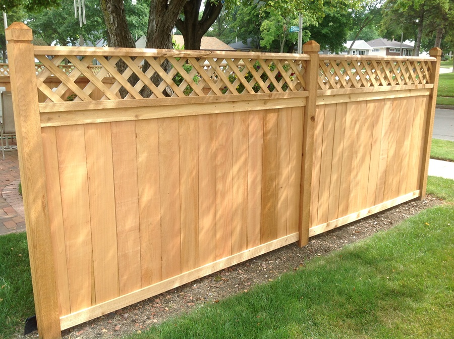 Image of: Awesome Cedar Fence Panels