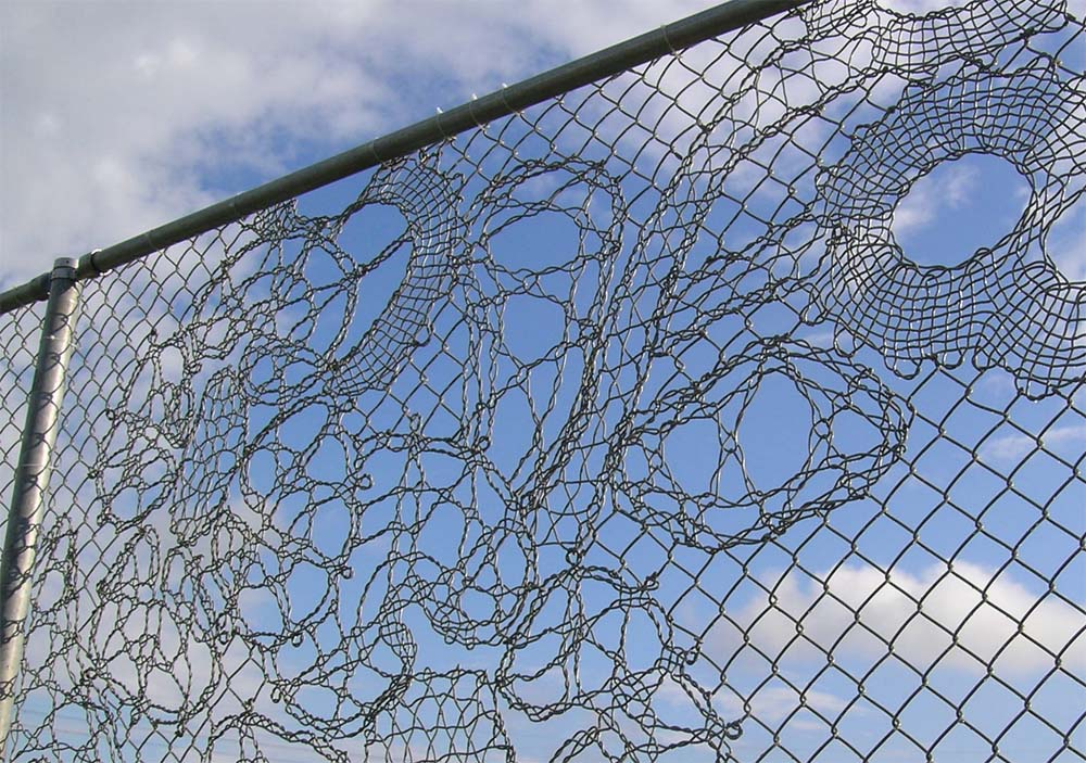 Image of: Awesome Chain Link Fence
