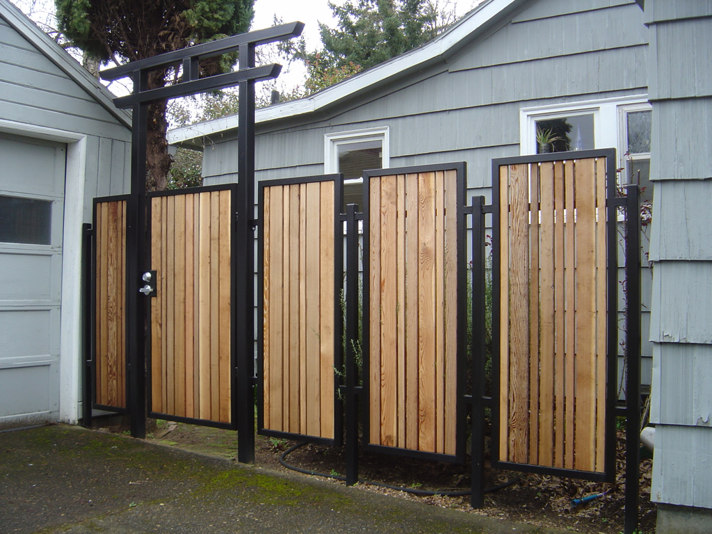 Awesome Metal Fence Panels