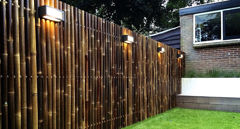 Image of: Bamboo Fence Modern