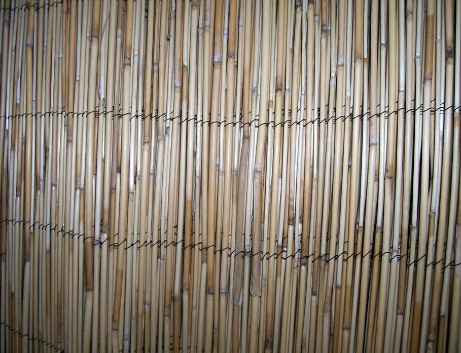 Image of: Bamboo Fence Panels Images