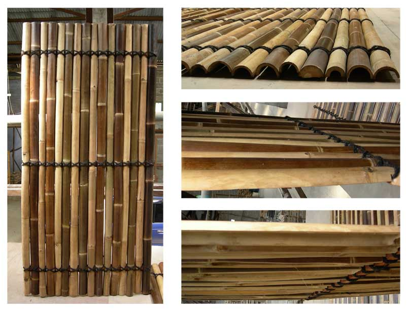 Image of: Bamboo Fence Panels Pictures
