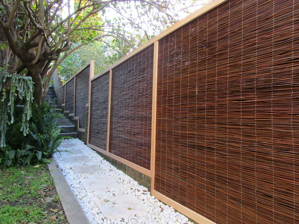 Image of: Bamboo Fence Panels Review
