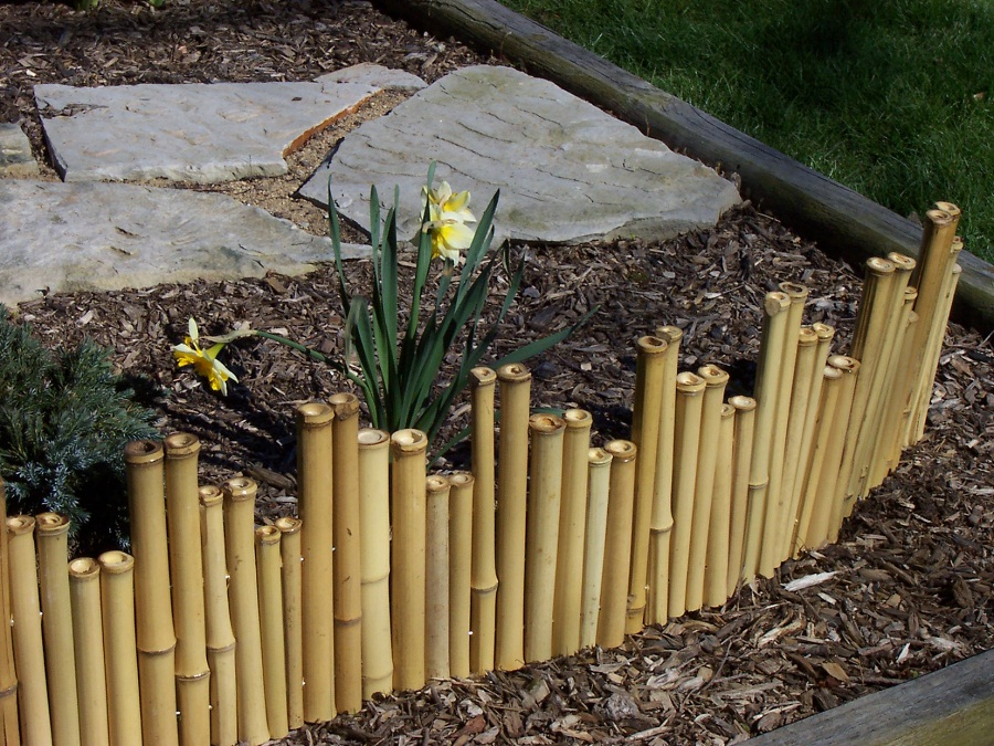 Image of: Bamboo Fence Roll