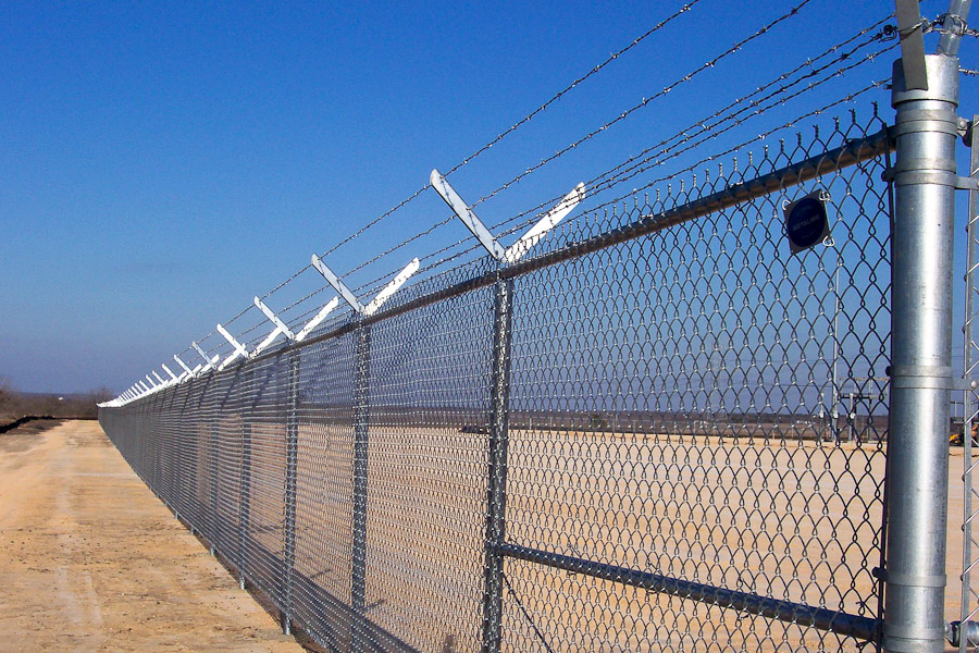 Beauty Cyclone Fence