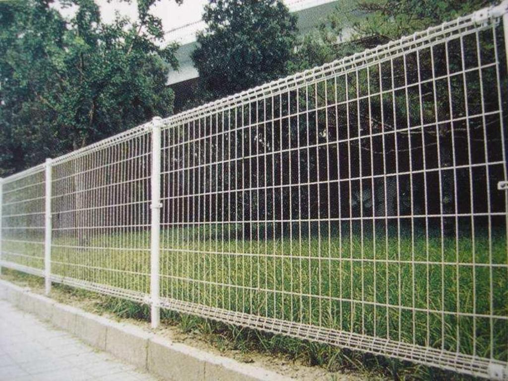 Image of: Black Mesh Fencing