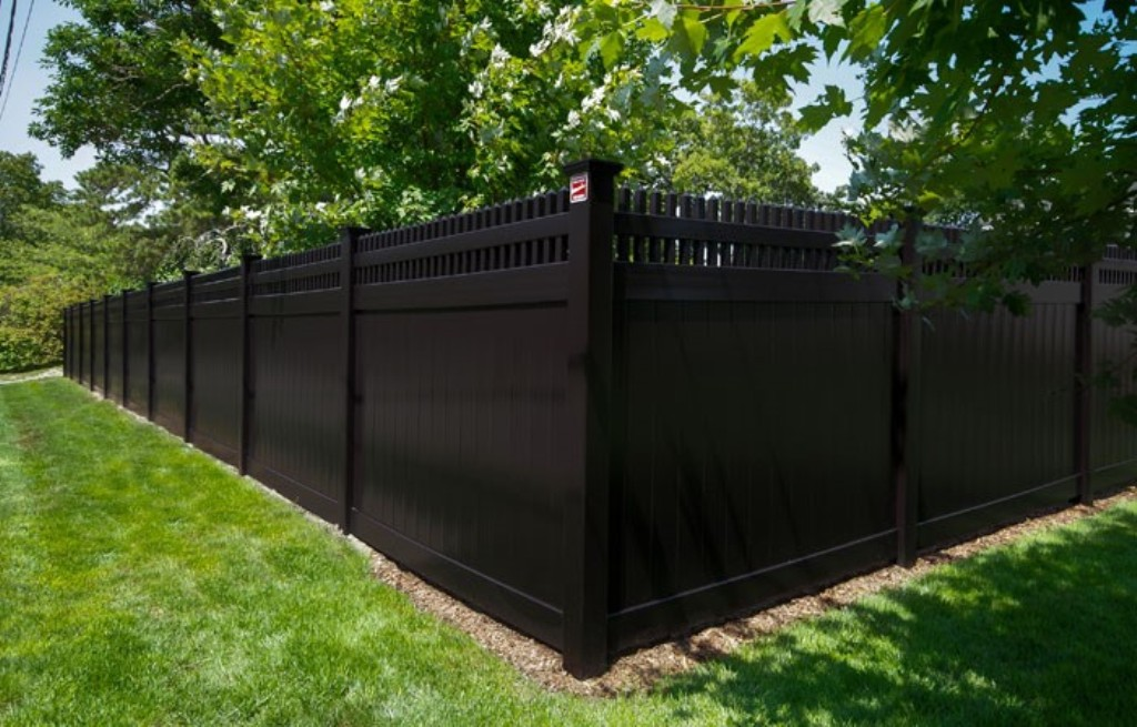 Image of: Black Vinyl Fence Balusters
