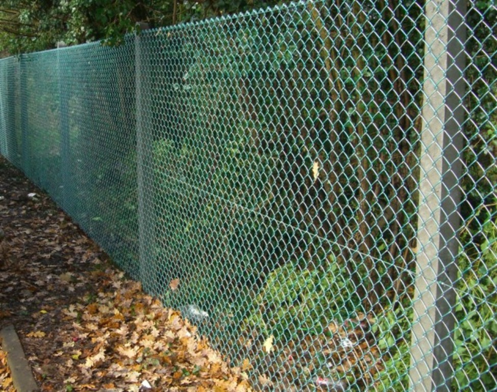 Image of: Brown Mesh Fencing