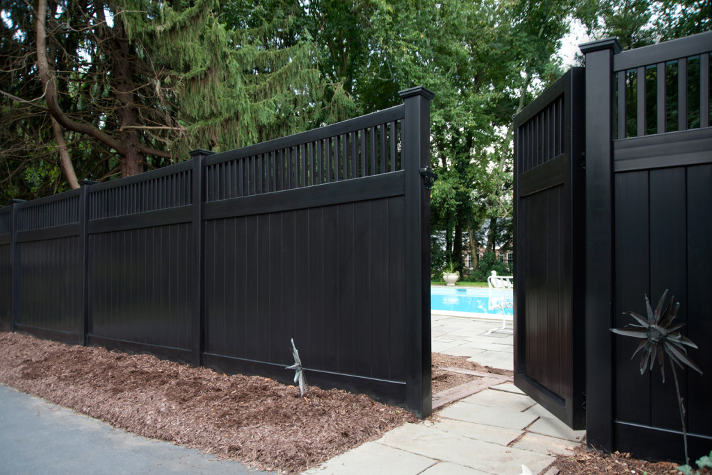 Image of: Brown Vinyl Lattice Fence Panels