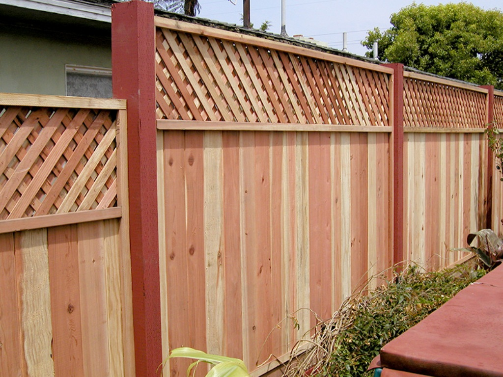Image of: Build Privacy Fence Panels