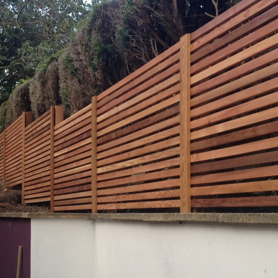 Image of: Cedar Fence Panels Pictures