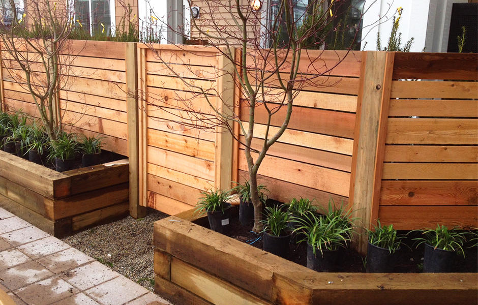 Image of: Cedar Fence Panels
