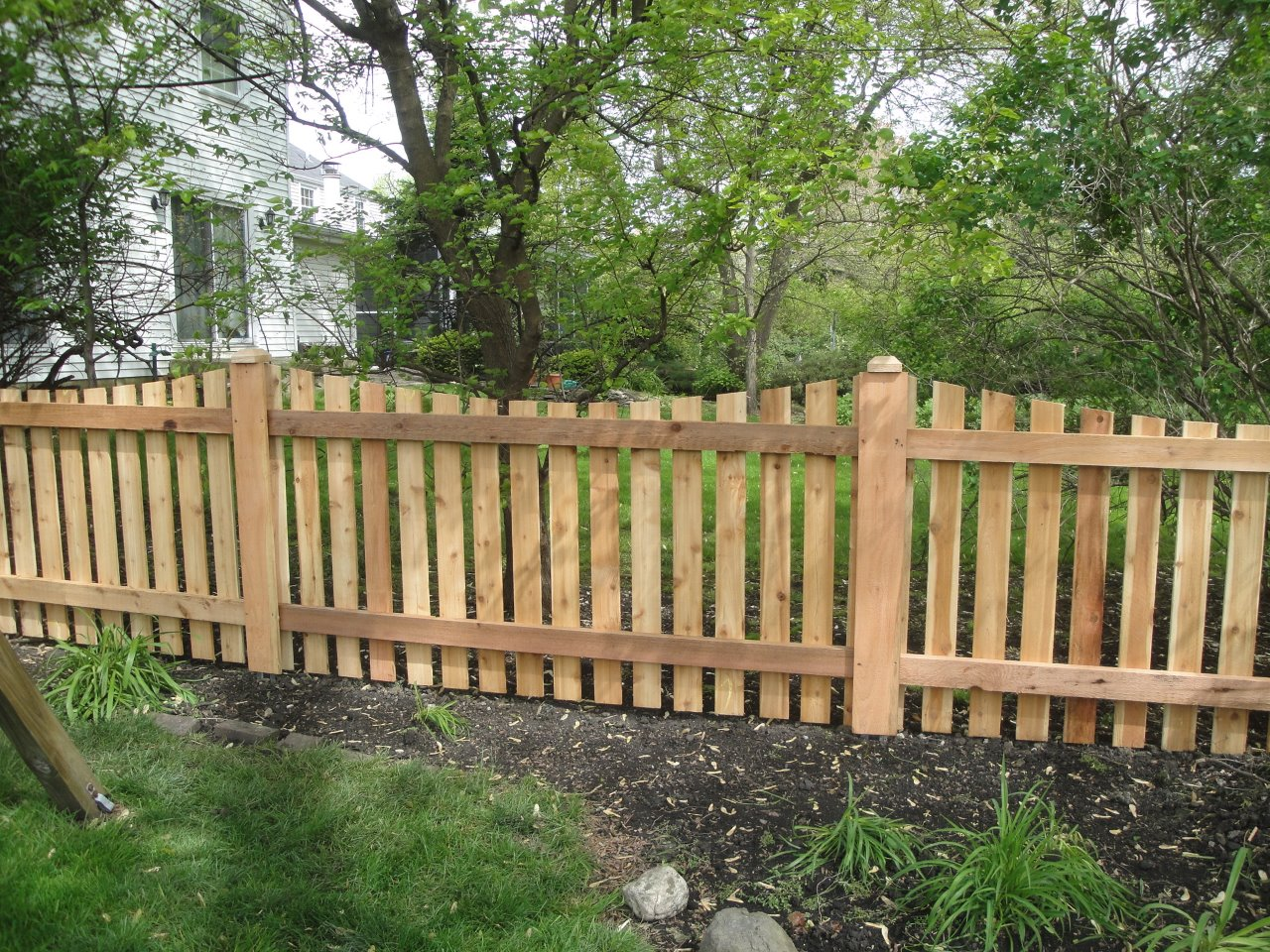 Image of: Cedar Fence Posts Images