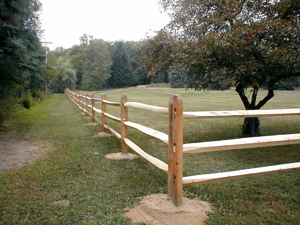 Image of: Cedar Fence Posts Style
