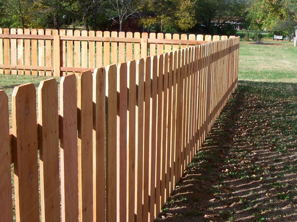 Image of: Cedar Fence Posts