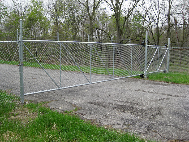 Chain Link Fence Gate Closer