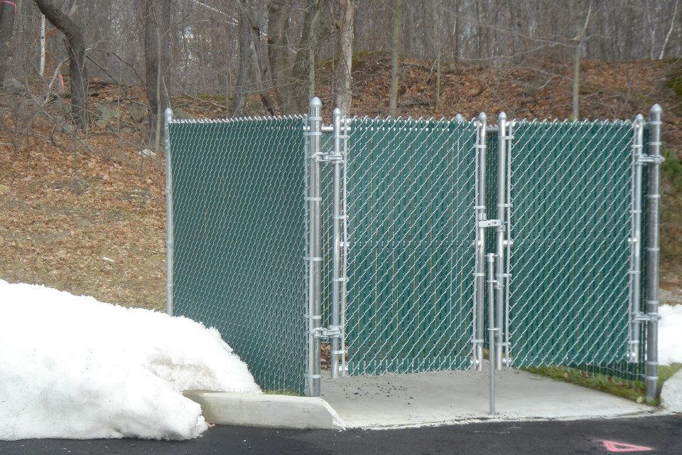 Chain Link Fence Gate Opener